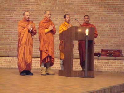 Monks at Interfaith