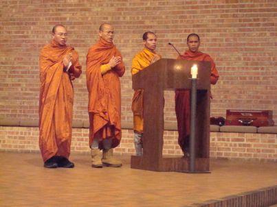 Monks at Interfaith