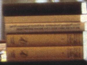 Close-up bookstack