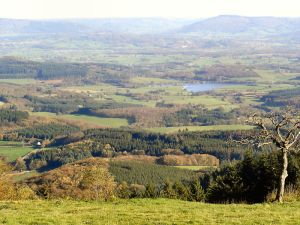 View from Mont Beuvray