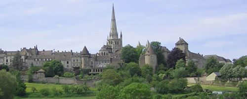 View of Autun